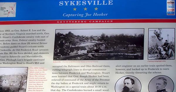 Sykesville Historical Marker