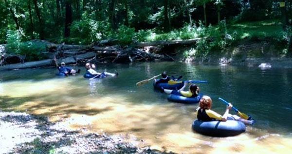 Patapsco River Tubing