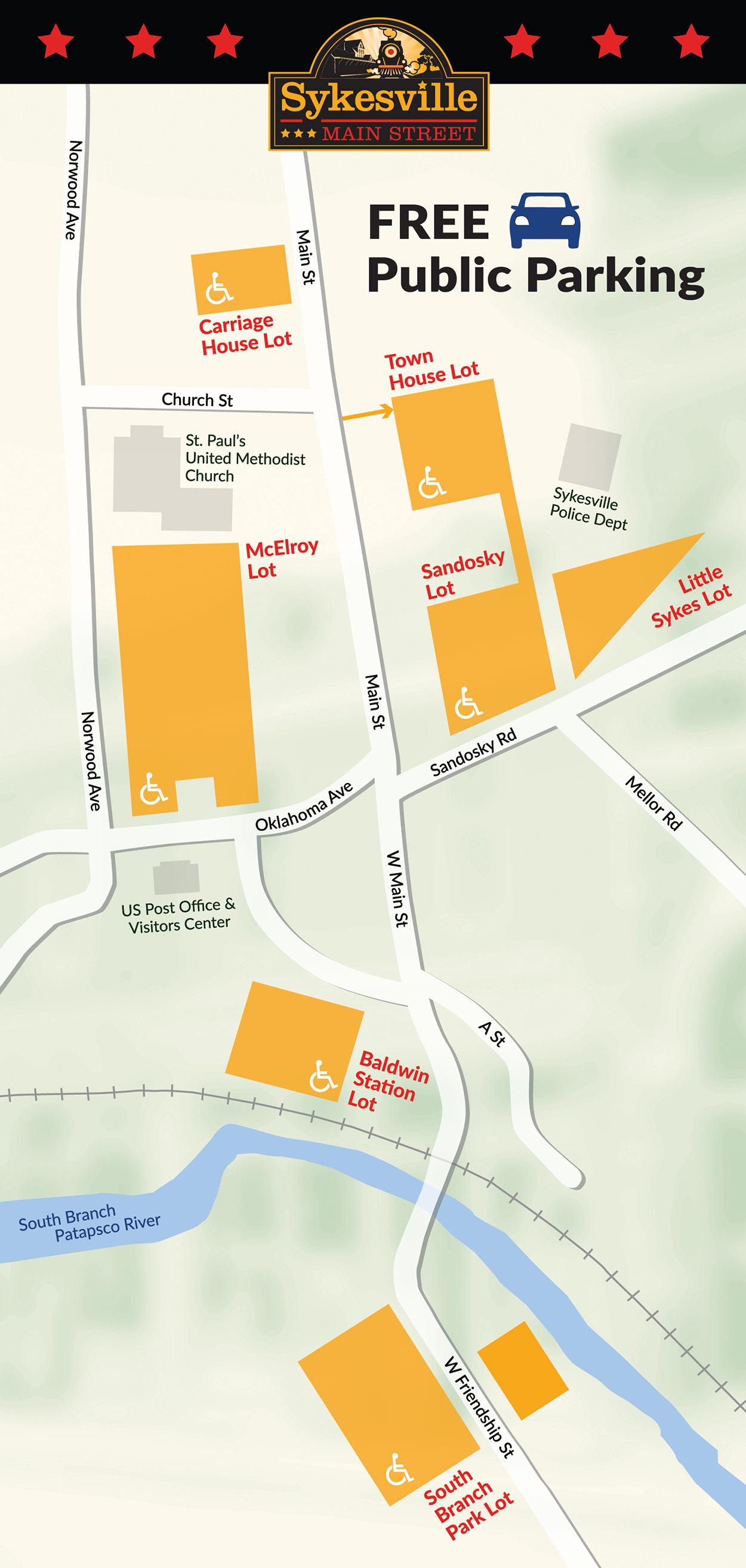 FREE Public Parking Map