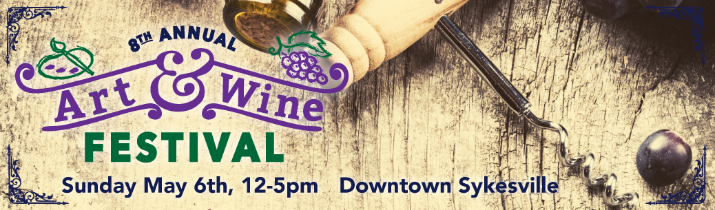 Sykesville's 8th Annual Art and Wine Festival 2018