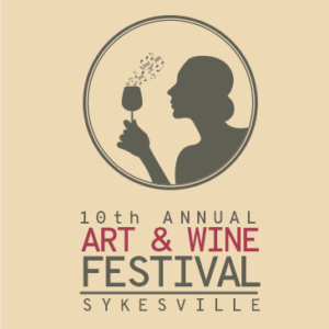 10th Annual Art & Wine Festival @ Sykesville main street