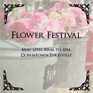Sykesville Flower Festival @ Downtown Sykesville