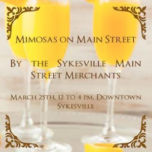 Mimosas on Main Street @ Main Street Sykesville