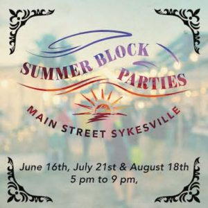 Summer Block Party - June Edition @ Sykesville | Maryland | United States