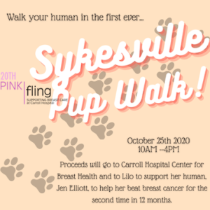 2020 Sykesville Pup Walk @ Sykesville Middle School to Main Street